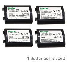 Kastar EN-EL4 Battery for Nikon D2Z D2H D2Hs D2X D2Xs D3 D3S D3X  F6