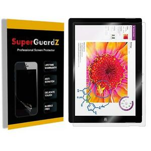 3X SuperGuardZ Clear Screen Protector Film Shield Cover for Microsoft Surface 3