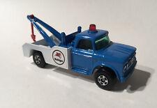 Matchbox Lesney Phantom #13 Custom Superfast Mobilgas Dodge Wreck Truck.