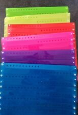 "30  3/4""  ASSORTED BRIGHT  PLASTIC/ TRANSLUCENT  WRISTBANDS, EVENT WRISTBANDS"
