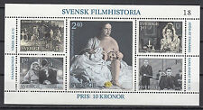Schweden Block 9 postfrisch Geschichte des schwedischen Films