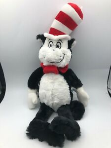 Official Aurora 2018 Dr Seuss Cat In The Hat Plush Soft Kids Stuffed Toy Animal