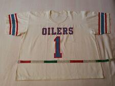 Nfl jersey, Houston Oilers 80's, no. 1 WARREN MOON