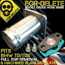 Fits BMW EGR REMOVAL KIT td tds E34 E36 E38 E39 Blanking Plate Bypass hose barb