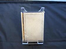 Antique Victorian mother-of-pearl Card Case, diamant forme motif, 19th siècle