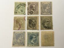old stamps  CARIBBEAN     x  9