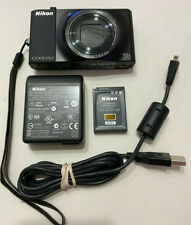 Nikon COOLPIX S8000 14.2MP Digital Camera - Black