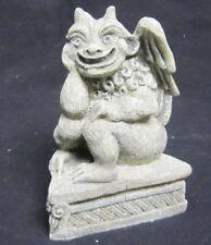Gargoyle Collection Faux Stone Smiling Grinning Gargoyle GG03 Night Watchman