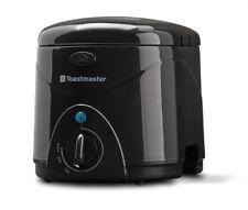 Deep Fryer Electric Countertop Nonstick Kitchen Cookware Adjustable Temperature