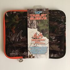 "Realtree Xtra Colors 10"" Tablet iPad Protective Sleeve Cover Camouflage Orange"