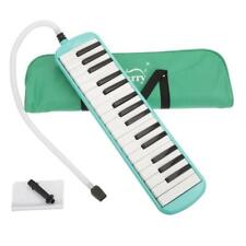More details for glarry green 32 piano keys melodica musical instrument w/ carrying bag