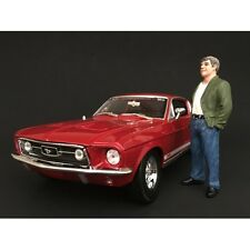 70's STYLE FIGURE VII FOR 1:18 SCALE BY AMERICAN DIORAMA 77457