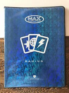 Binder - Max Protection Gaming 9 Pocket Binder - Blue