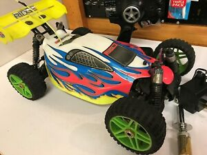 Hobao Hyper 7 Roller / Rolling Chassis 1:8 Scale RC Buggy with Radio and Servo's