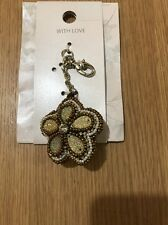 M&S Pearls&stone Key ring