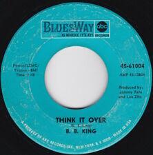 Soul / R&B--B.B. King--Think It Over / I Don't Want You Cuttin' Off Your Hair