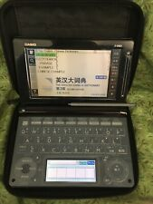 Electronic Dictionary English French Chinese Japanese Translation Casio E-D800