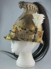 More details for antique 19th century french napoleonic dragoon officer helmet