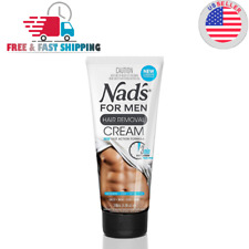 Nads For Men Body Hair Removal CREAM 6.8 oz PAINLESS Remove For Chest Arms Legs