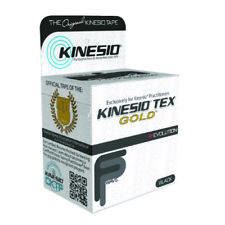 McK Kinesio Tex Gold FP Kinesiology Tape 2 Inch X 5-1/2 Yard Black