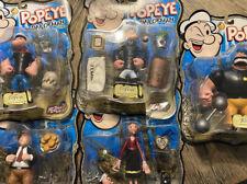 Popeye the Sailorman Action Figure (Mezco 2001) Complete Set New???