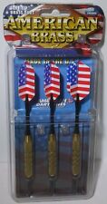 New listing New In Package American Brass 3-Pack Soft Tip Brass Dart US Flag Themed 18 Grams