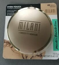 Milani Even-Touch Powder Foundation, Fresco Shades Oil-Free Lightweight Cosmetic