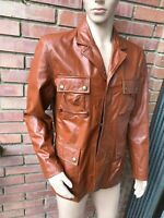 ORIGINALE BELSTAFF NEW GIACCA IN PELLE DA UOMO TAGLIA L LEATHER JACKET SIZE L