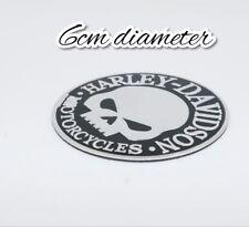 Gas de motos Harley Davidson Willie G cráneo Insignia Emblema Logo del tanque de combustible