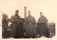 Soldaten vor Feldküche in Clörath b. Tönisvorst