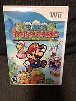 Super Paper Mario: White Label (Nintendo Wii, 2007) LikeNew!!!