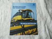 New Holland CX840 CX860 combine brochure