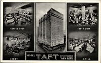 Hotel Taft New York City Times Square Room and bath $2.50 1943 RPPC AA-008