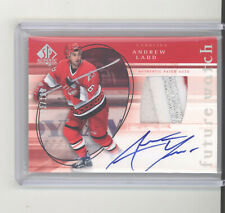 Andrew Ladd auto patch RC /100 2005-06 UD SP Authentic Future Watch NM Islanders