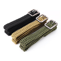 New Metal Belt Buckle Tactical Nylon Rescue Rigger Quick Release 28//38//45MM//50MM