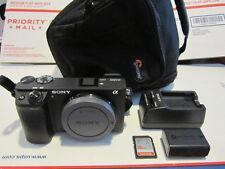 Sony Alpha a6300 24.2MP Digital SLR Camera - Black (Body Only) ILCE6300