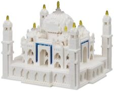 NEW NANOBLOCK TAJ MAHAL DELUXE 2210 pieces Building Blocks Nanoblocks NB-032