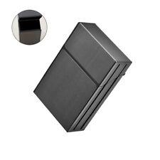 Unisex Metal Cigarette Case Aluminum Tobacco Holder Storage Container Pocket Box