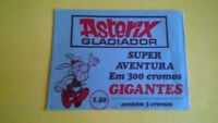 Très rare ASTERIX GLADIATOR pochette packet paquet 1975