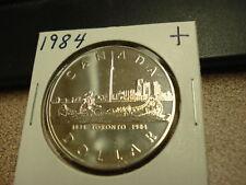 1984 - Canada - Silver One Dollar - Brilliant Uncirculated Canadian $1
