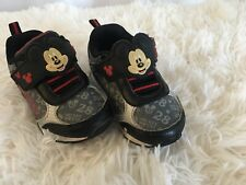 Disney Mickey Mouse Baby Tennis Shoes Toddler Baby Sz 6
