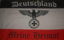 Riesen große XXL Deutschland  Meine Heimat Adler Fahne Flagge 250 x 150 cm