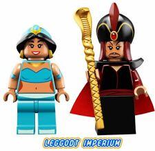 LEGO Minifigure - Jafar and Jasmine - Disney Series 2 Aladdin FREE POST