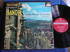 Karl Richter/Handel Organ Concertos/3 LP Box/London Blueback CSA 2302/EX+ to M-
