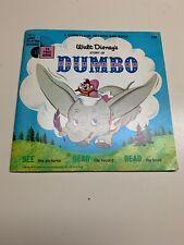 RARE Walt Disney Story Of Dumbo Read Along Book Missing Cassette Tape 1968