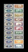 Brasilien -  2x 1 - 1.000 Cruzeiros - Ausgabe 1943 - 1944 - Reproduktion - 20