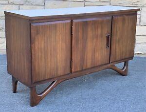Mid Century Danish Modern Adrian Pearsall Style Credenza Buffet