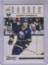 2012-13 Classics Signatures Buffalo Sabres Hockey Card #12 Gilbert Perreault