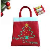 Christmas Apple Gift Bag Candy Bag Merry Christmas Candy Bags Xmas Decor NEW - S