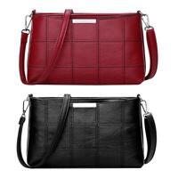 Fashion Women Handbag PU Leather Messenger Bag Crossbody Shoulder Bag Purse Tote